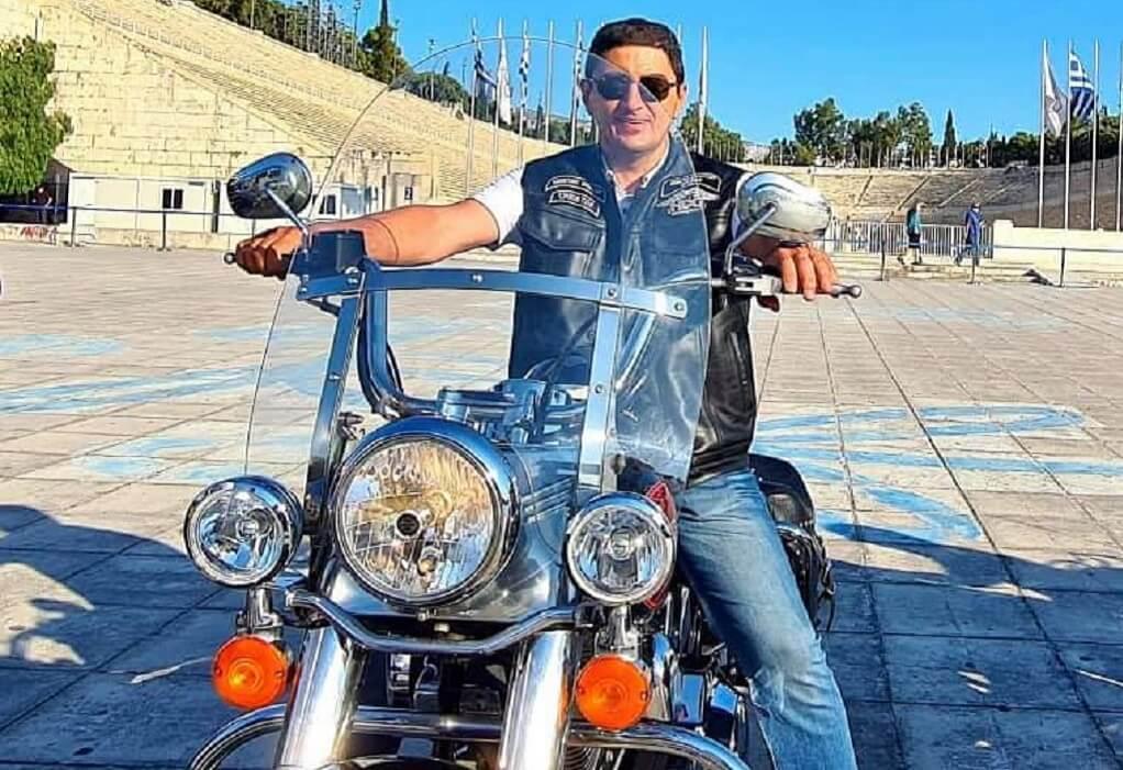 Λευτέρης Αυγενάκης: Μοτοπορεία Harley με αφορμή τον τελικό του Euro
