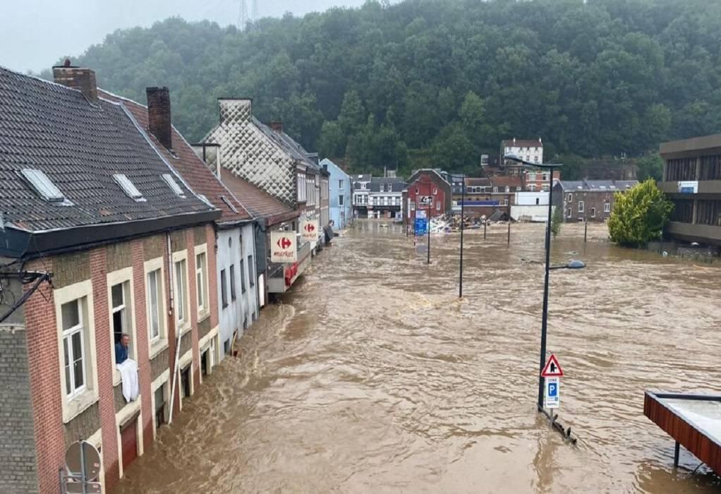 Βέλγιο: 31 οι νεκροί και 163 οι αγνοούμενοι από τις πλημμύρες