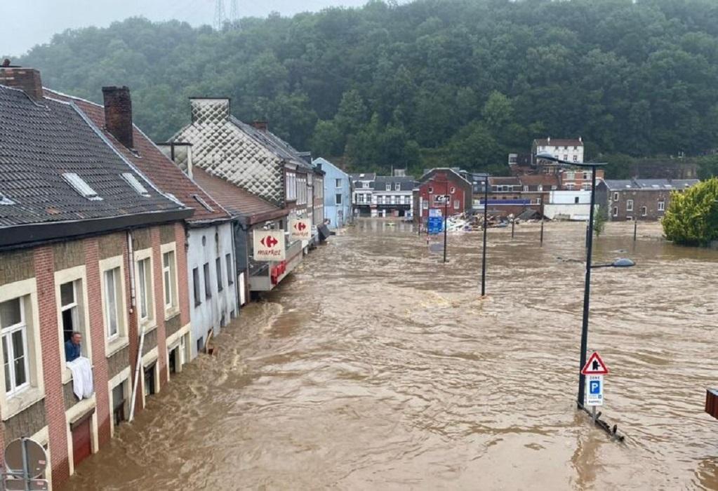 Βέλγιο: 14 νεκροί και 5 αγνοούμενοι από τις πλημμύρες