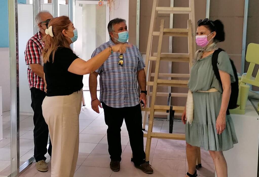 Δ. Κορδελιού-Ευόσμου:Ξεκίνησαν οι εργασίες μετατροπής παιδικών σταθμών σε βρεφονηπιακούς