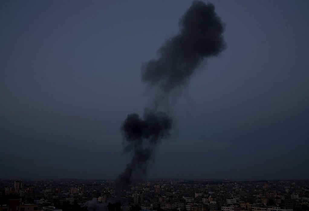 Μεσανατολικό: Αεροπορικά πλήγματα του Ισραήλ στη Λωρίδα της Γάζας