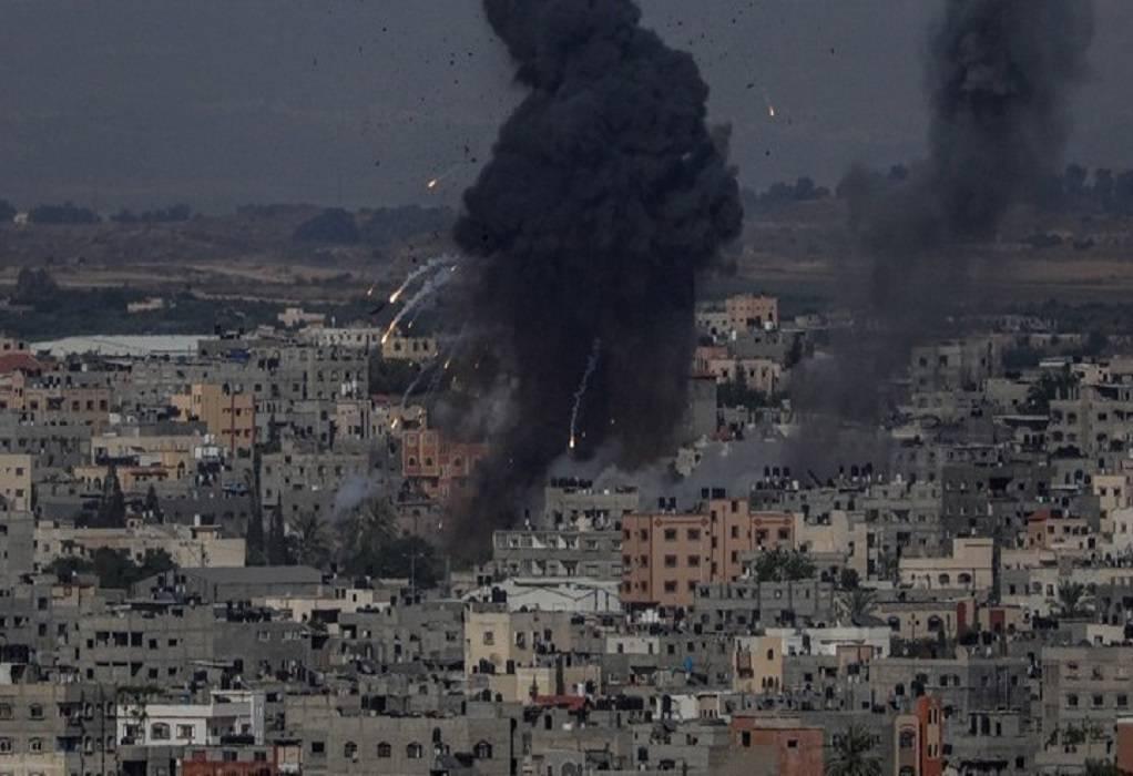 Γάζα: Αεροπορικά πλήγματα μετά τη χρήση μπαλονιών με εμπρηστικούς μηχανισμούς