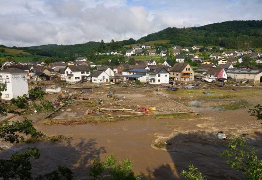 Μηνύματα συμπαράστασης από Μητσοτάκη και ΠτΔ για τις φονικές πλημμύρες στη Γερμανία