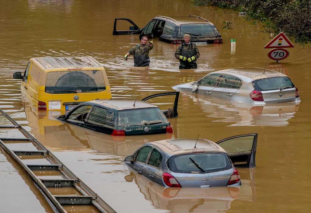 Πλημμύρες στη Γερμανία: Σχεδόν 170 οι αγνοούμενοι