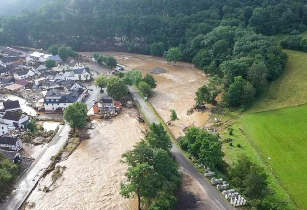 Γερμανία: Στους 33 οι νεκροί από τις πλημμύρες στη δυτική Γερμανία – Δεκάδες οι αγνοούμενοι