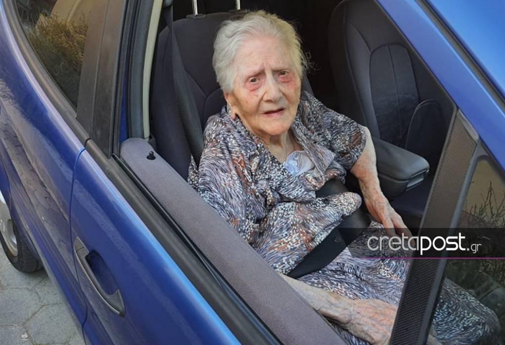 Ηράκλειο: Εμβολιάστηκε γιαγιά 100 ετών!- Το μήνυμα που στέλνει