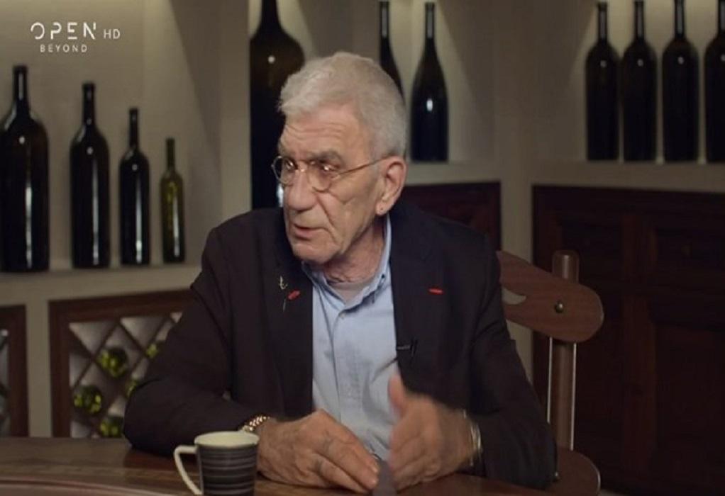 Γιάννης Μπουτάρης: «Εγώ λέω ότι είμαι αλκοολικός» (VIDEO)