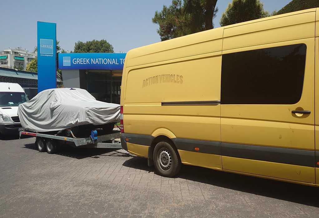 """Θεσσαλονίκη: Στο λιμάνι για γυρίσματα το """"The Enforcer"""" με τον Αντόνιο Μπαντέρας"""