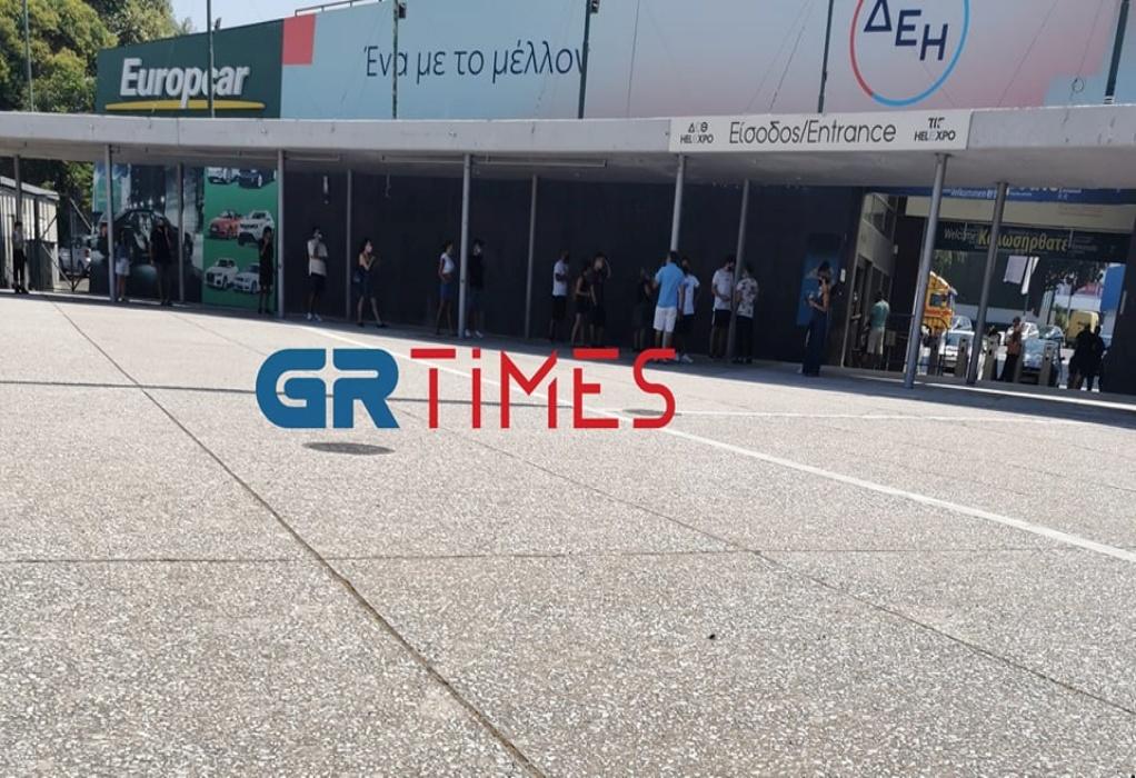 Θεσσαλονίκη: Στην ουρά για rapid test αντί για παραλία (ΦΩΤΟ+VIDEO)