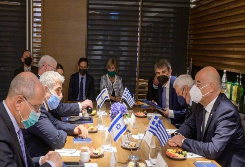 Δένδιας: Ξεκάθαρη η ισραηλινή τοποθέτηση για την απαράδεκτη τουρκική στάση