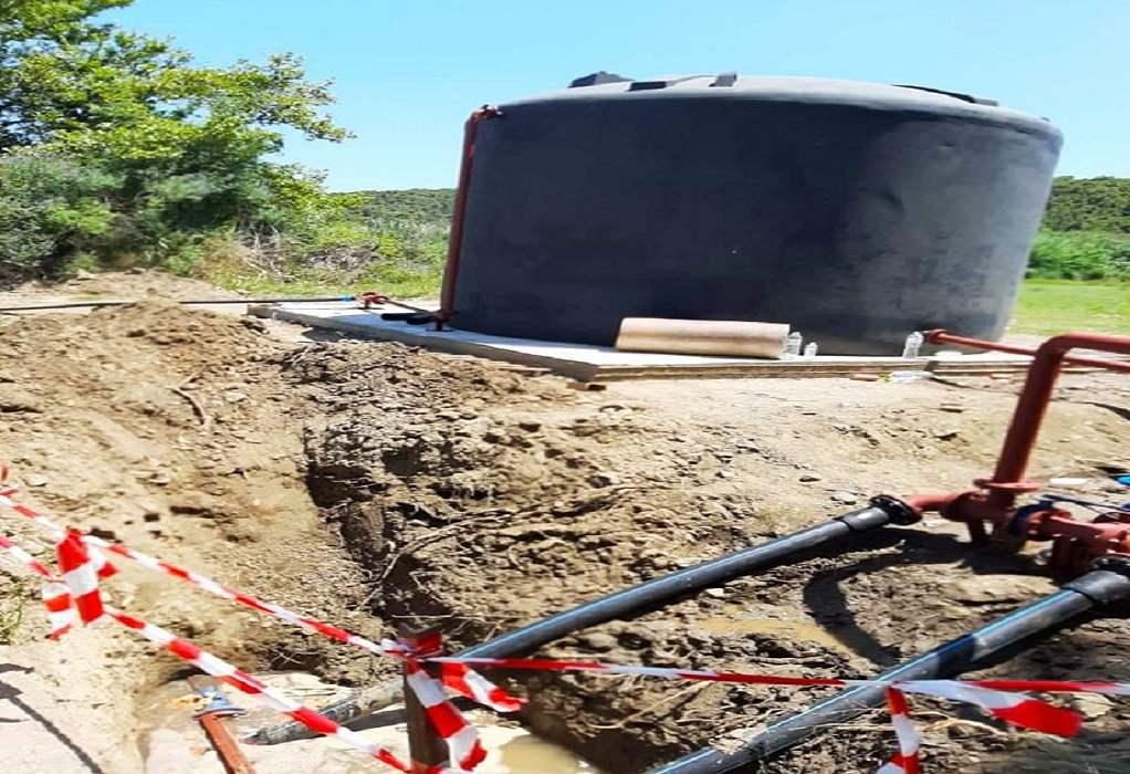 Δ. Αριστοτέλη: Ενέργειες για αντιμετώπιση προβλημάτων υδροδότησης