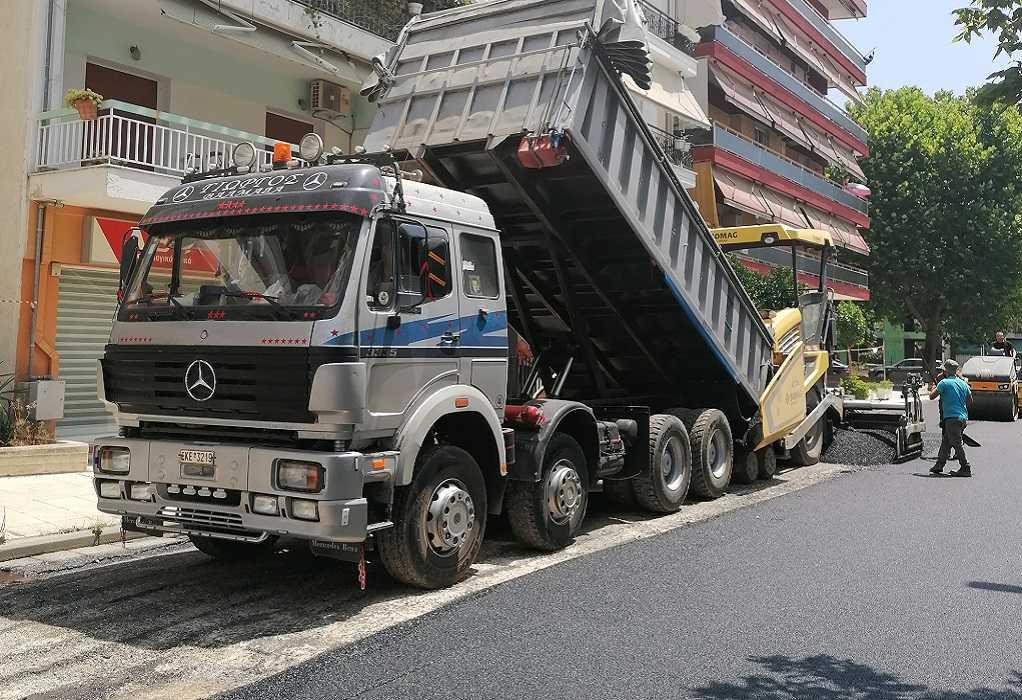 Θεσσαλονίκη: Εργασίες ασφαλτόστρωσης στην Αγίου Δημητρίου-Ποιοι δρόμοι θα κλείσουν