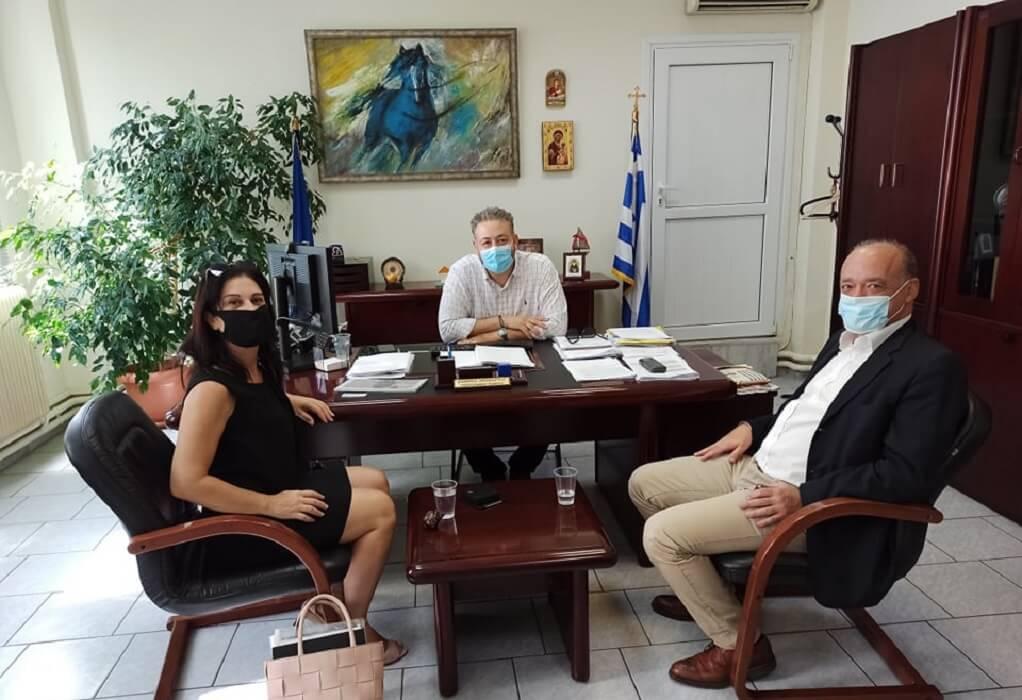 Δ. Ωραιοκάστρου: Συνάντηση Τσακίρη με την αντιπρόεδρο της SK Group-μέτοχο της νέας ΕΛΒΟ