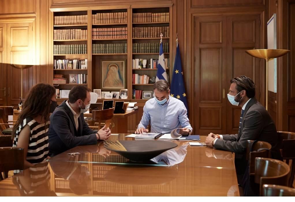 Μελέτη για τη Φέρουσα Ικανότητα του Δήμου Θήρας από την ΕΛΛΕΤ στον πρωθυπουργό