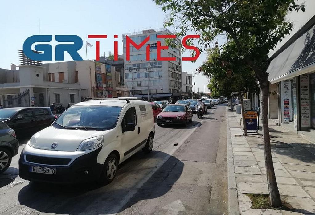 Θεσσαλονίκη: Κυκλοφοριακό χάος στην είσοδο της πόλης (ΦΩΤΟ-VIDEO)