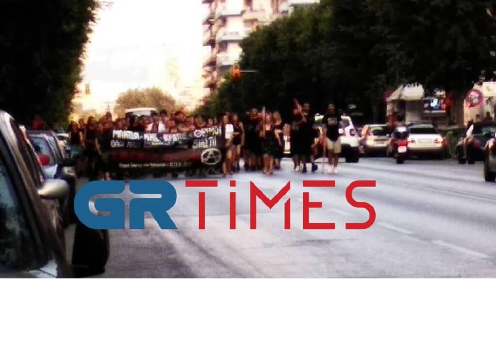 Θεσσαλονίκη: Πορεία αλληλεγγύης για την 19χρονη στην Ηλιούπολη (ΦΩΤΟ)