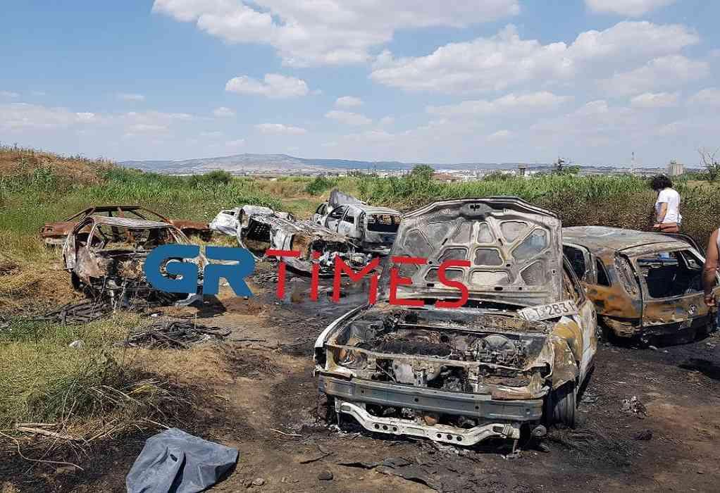 Φυλακές Διαβατών: Βρέθηκαν κατεστραμμένα 5 κλεμμένα αυτοκίνητα (ΦΩΤΟ-VIDEO)