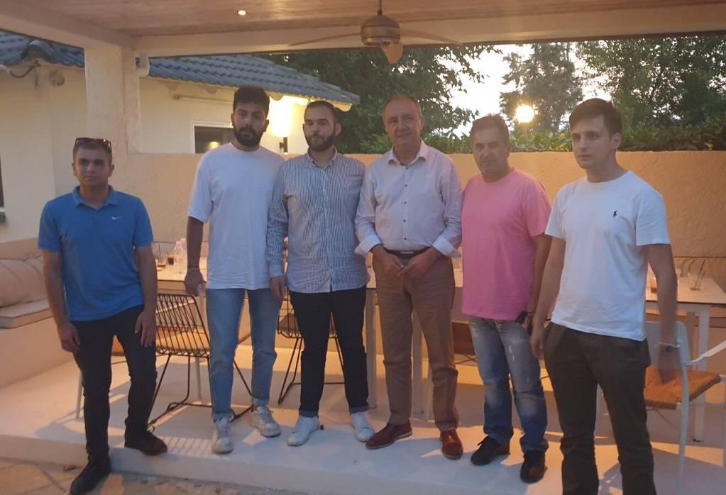 Συνάντηση Καράογλου με μέλη των ΔΗΜΤΟ ΝΔ του δήμου Χαλκηδόνας