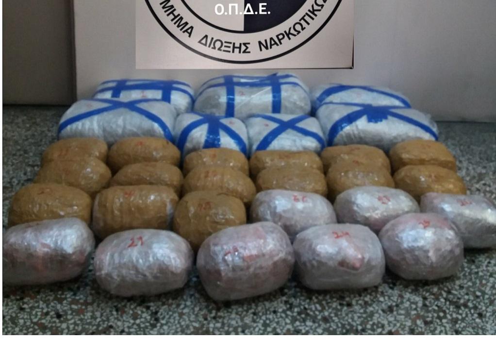 Καστοριά: Χειροπέδες σε διακινητή ναρκωτικών-Κατασχέθηκαν 58 κιλά κάνναβης (VIDEO)