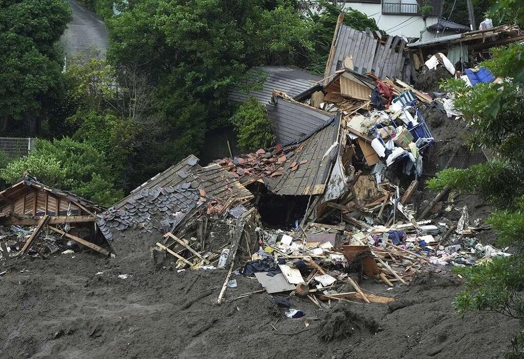 Κατολίσθηση λάσπης στην Ιαπωνία: Επτά νεκροί και 27 αγνοούμενοι