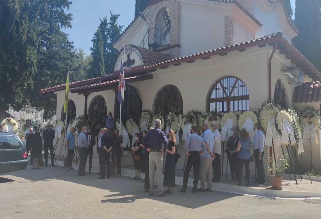 Σέρρες: Σε κλίμα βαθιάς οδύνης και θλίψης η κηδεία του Χρ. Μέγκλα (VIDEO)