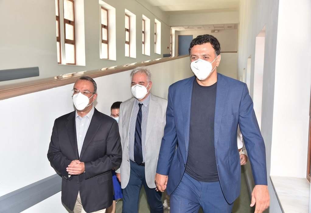 Λαμία: Το νέο Αιμοδυναμικό Εργαστήριο στο νοσοκομείο εγκαινίασε ο Β. Κικίλιας