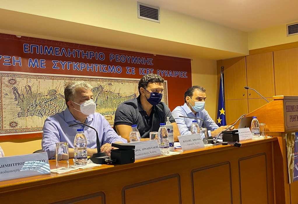 Β. Κικίλιας: Η Κρήτη πρέπει να είναι πρωτοπόρος και στον εμβολιασμό