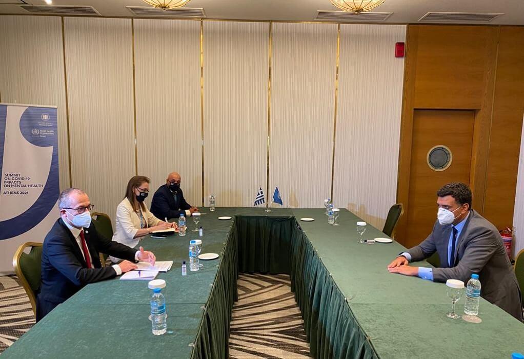 Συνάντηση Βασίλη Κικίλια και Ζωής Ράπτη με τον Περιφερειακό Διευθυντή Ευρώπης του ΠΟΥ