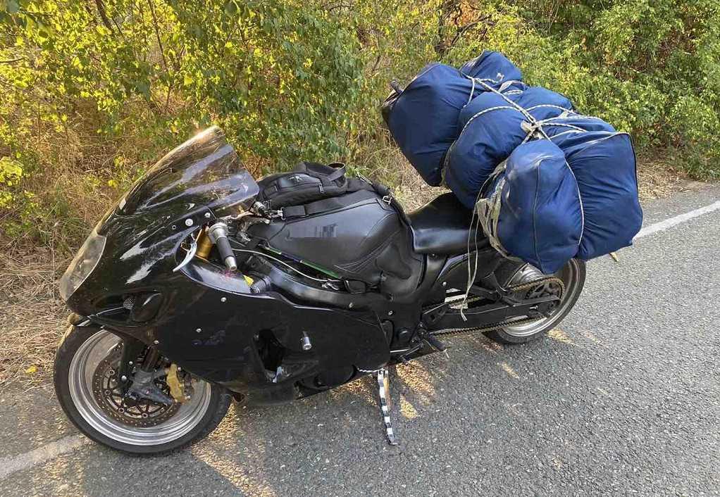 Κιλκίς: Μετέφερε με μοτοσικλέτα πάνω από 33 κιλά κάνναβης! (ΦΩΤΟ)