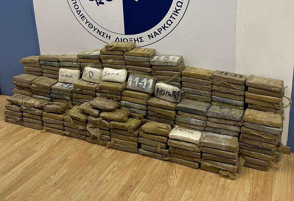 «Μπλόκο» σε 350 κιλά κοκαΐνης στο λιμάνι του Πειραιά (ΦΩΤΟ-VIDEO)