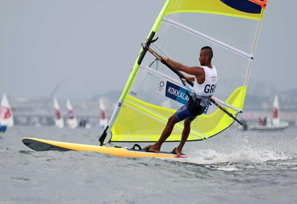 Ολυμπιακοί Αγώνες: Στη 13η θέση ο Βύρων Κοκκαλάνης μετά την έκτη ιστιοδρομία