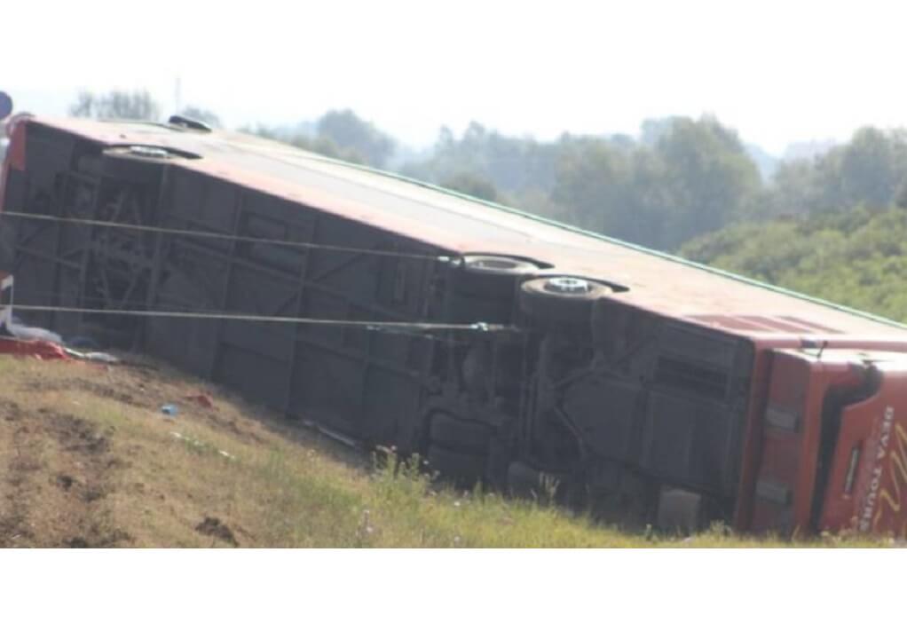 Τραγωδία στην Κροατία: Τουλάχιστον 10 νεκροί σε δυστύχημα με λεωφορείο – Δεκάδες τραυματίες