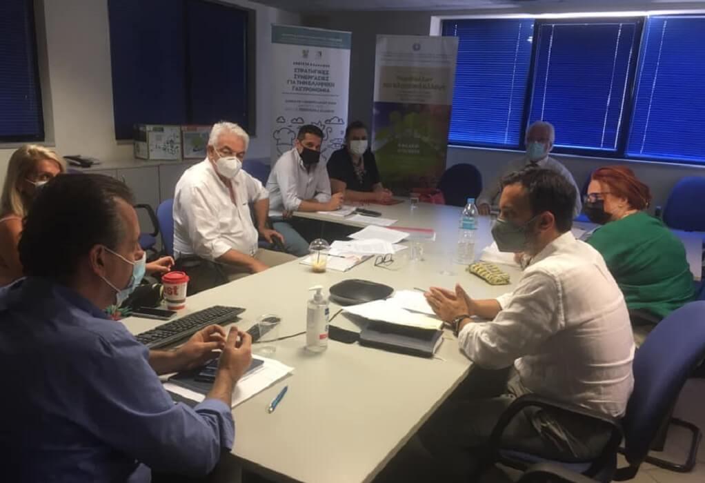 ΥΠΑΑΤ: Συνάντηση Δ. Παπαγιαννίδη για το πρόγραμμα LEADER