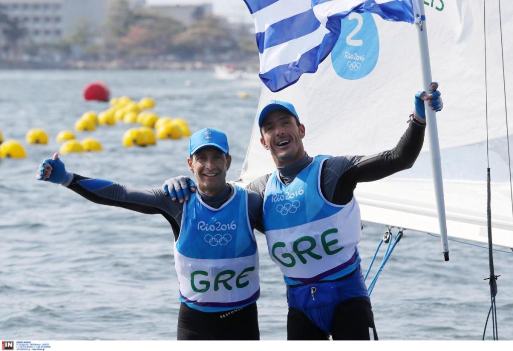 Ολυμπιακοί Αγώνες: Στην πέμπτη θέση της γενικής κατάταξης οι Μάντης και Καγιαλής