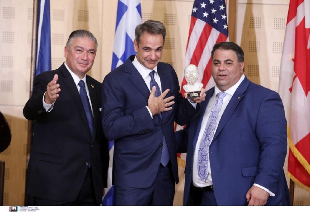 Κυρ. Μητσοτάκης στο Συνέδριο της AHEPA: Ενθαρρυντικός ο δυναμισμός της ελληνοαμερικανικής κοινότητας