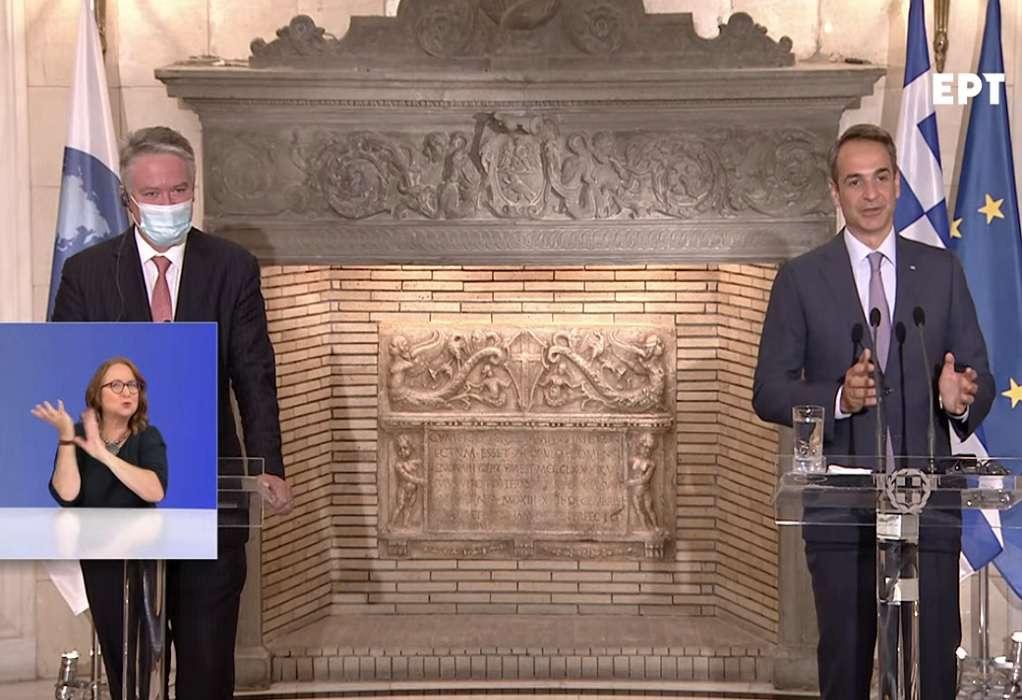 LIVE οι δηλώσεις του Κ. Μητσοτάκη και του ΓΓ. του ΟΟΣΑ