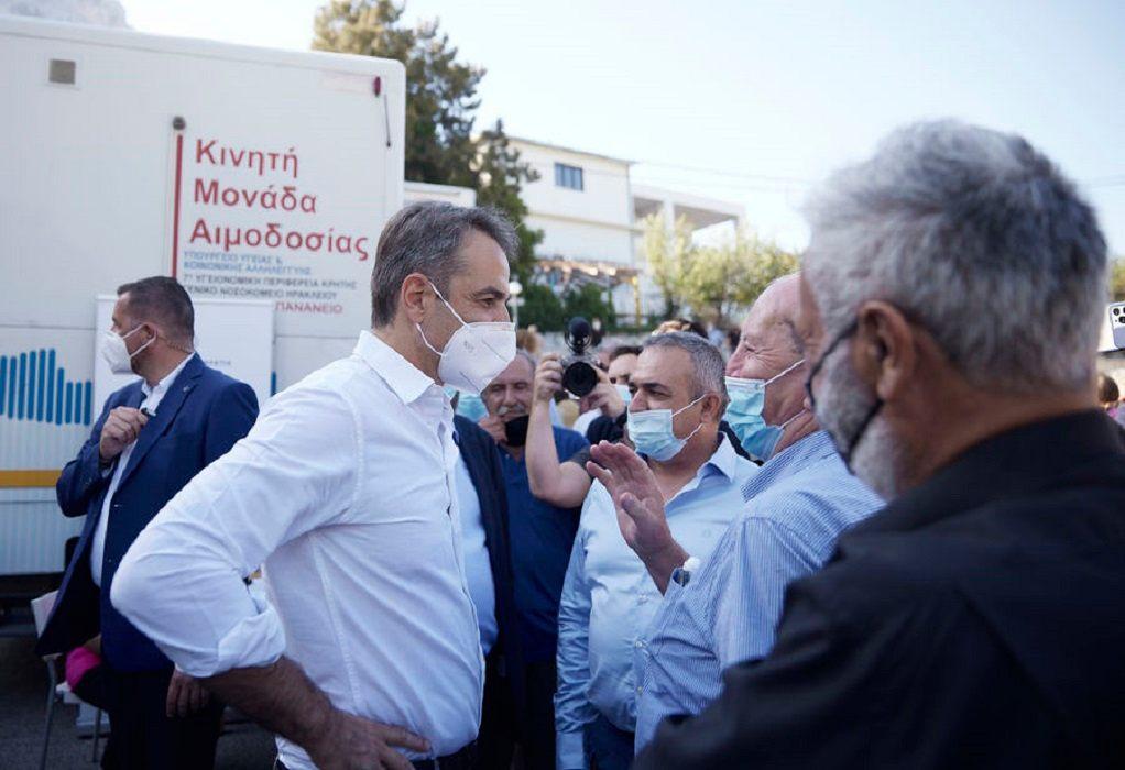 Κυρ. Μητσοτάκης: Μόνο μέσα από τον εμβολιασμό θα κόψουμε το νήμα της πανδημίας