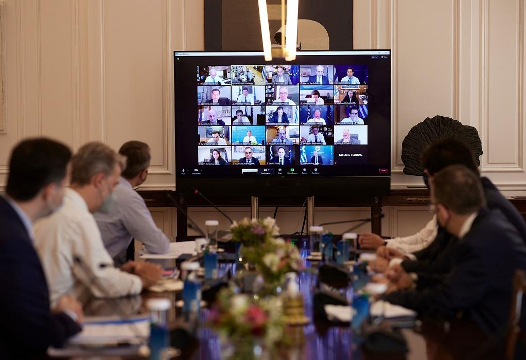 Αναλυτικά όλα όσα συζητήθηκαν στη συνεδρίαση του Υπουργικού Συμβουλίου