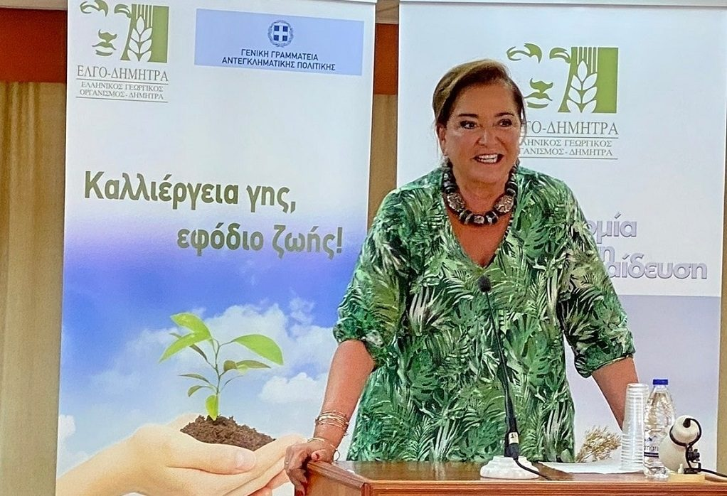 Σε παρουσίαση προγράμματος για την αγροτική εκπαίδευση κρατουμένων η Ντ. Μπακογιάννη