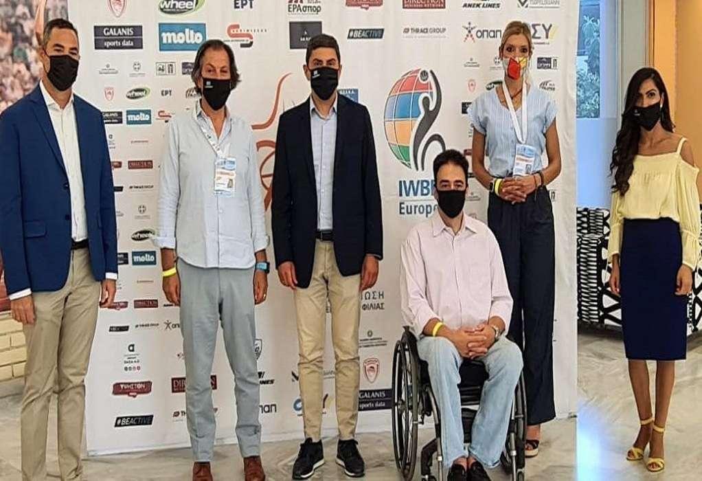 Αυγενάκης: Ο αθλητισμός ΑμεΑ αποτελεί ευθύνη για την κυβέρνηση
