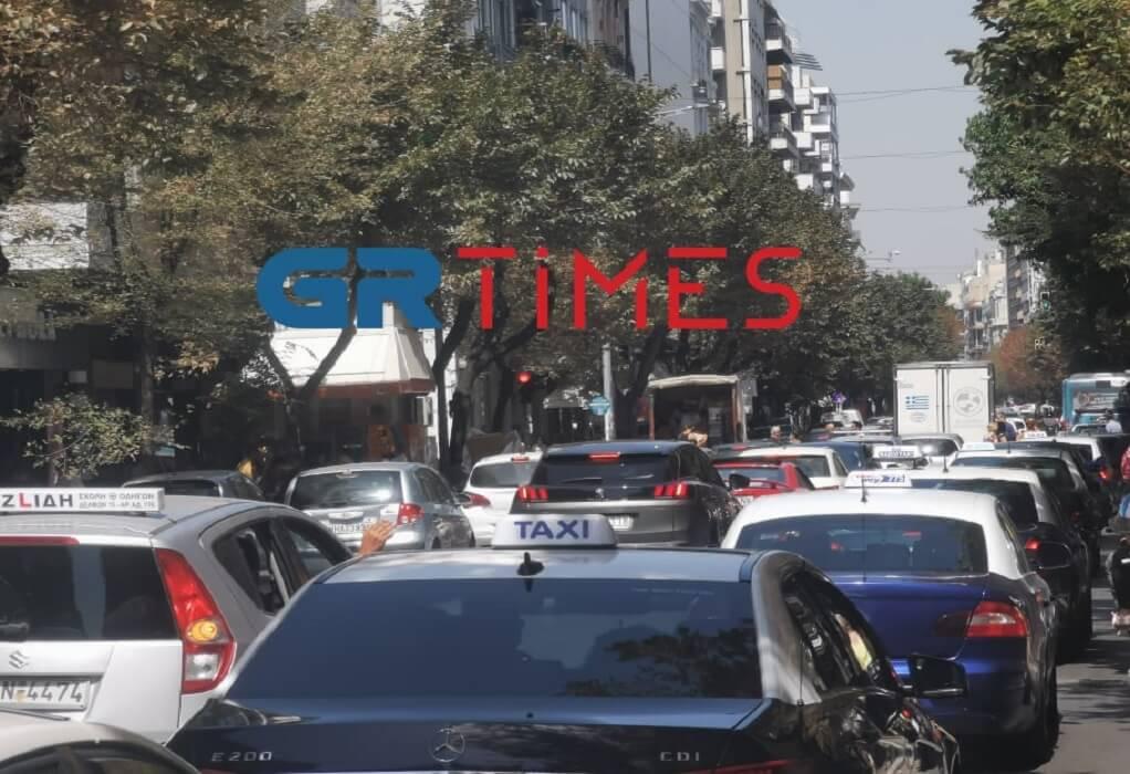 """Θεσσαλονίκη- Κυκλοφοριακό: Πρωινό για… γερά νεύρα – Ποιοι δρόμοι έχουν """"φρακάρει"""""""