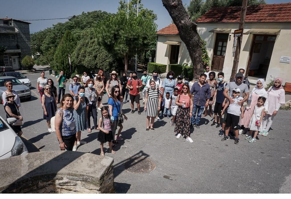 Δήμος Νεάπολης-Συκεών: Οι πρόσφυγες γνώρισαν την ιστορία της πόλης