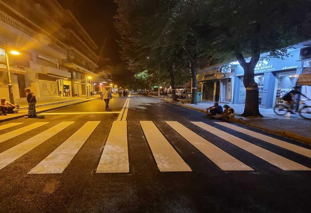 Θεσ/νίκη: Ολοκληρώνεται αύριο (16/7) η ασφαλτόστρωση της οδού Ανατολικής Θράκης