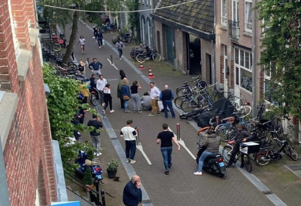 Ολλανδία: Αστυνομικός ρεπόρτερ πυροβολήθηκε σε δρόμο στο Άμστερνταμ