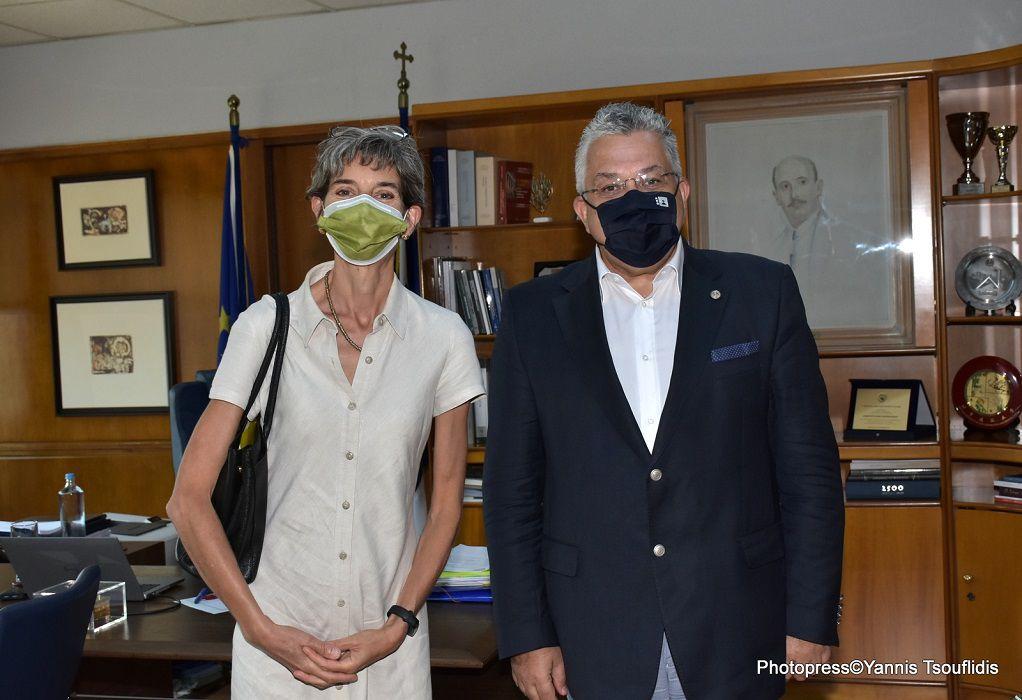 Συνάντηση του Πρύτανη του ΑΠΘ με την Πρέσβειρα Μ. Βρετανίας στην Αθήνα