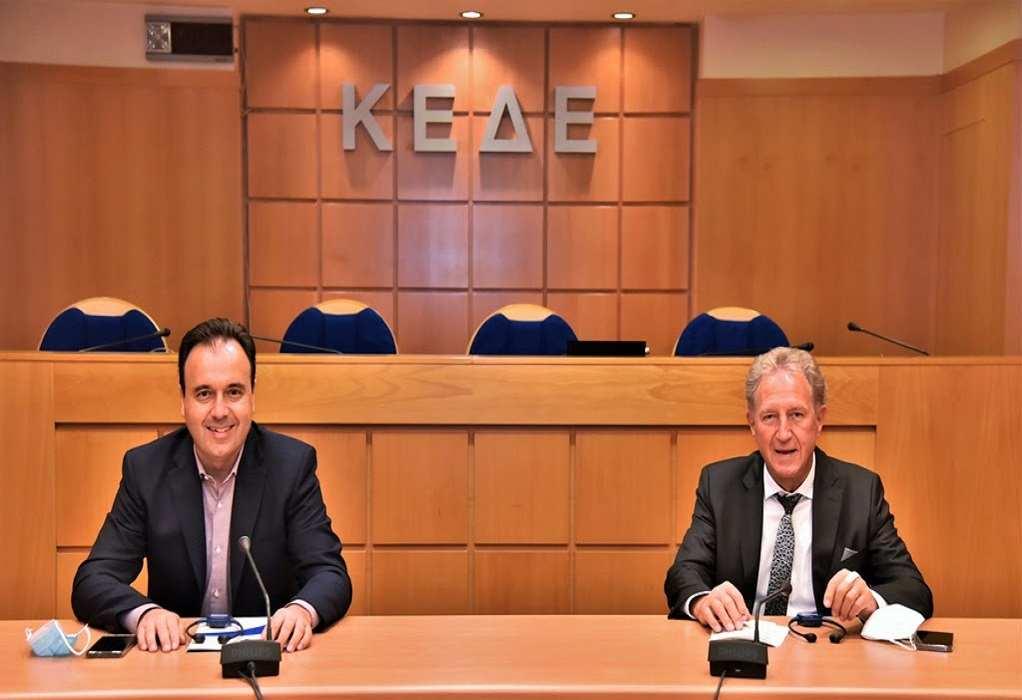 Συνάντηση Παπαστεργίου – Μπάρτλε για το μέλλον της Ελληνογερμανικής Συνέλευσης