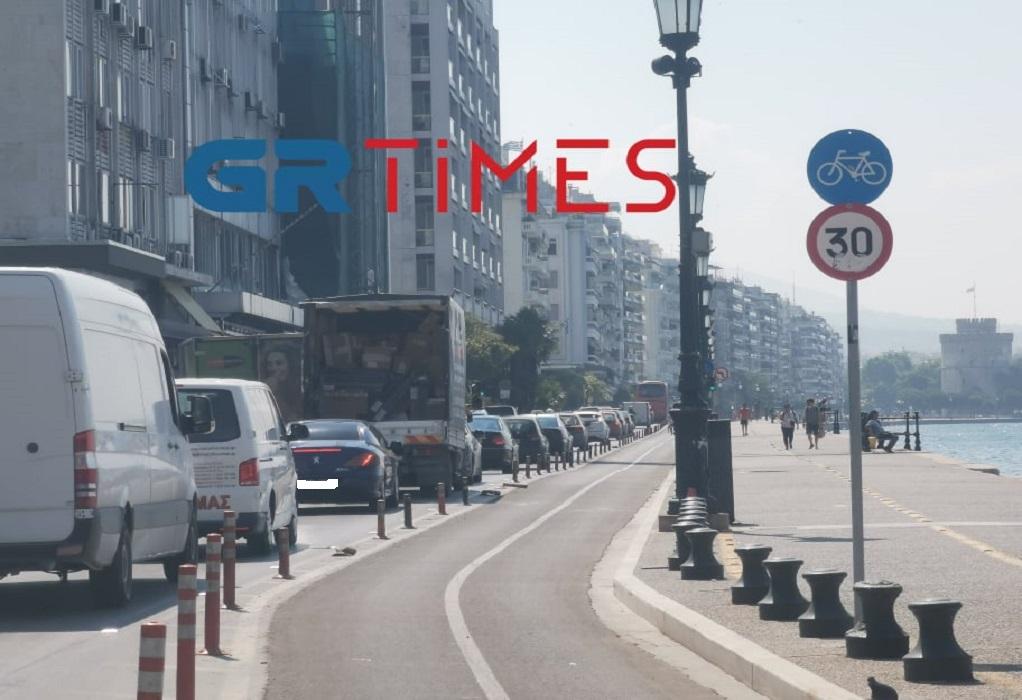 Θεσσαλονίκη: Της… υπομονής οι δρόμοι – Αυξημένη κίνηση στο κέντρο (ΦΩΤΟ)