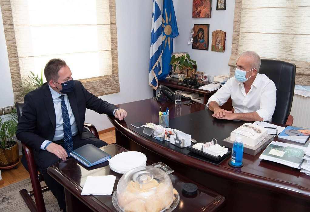 Δ.Δέλτα: Συνάντηση Πέτσα – Ιωαννίδη για τον αναπτυξιακή προοπτική του δήμου