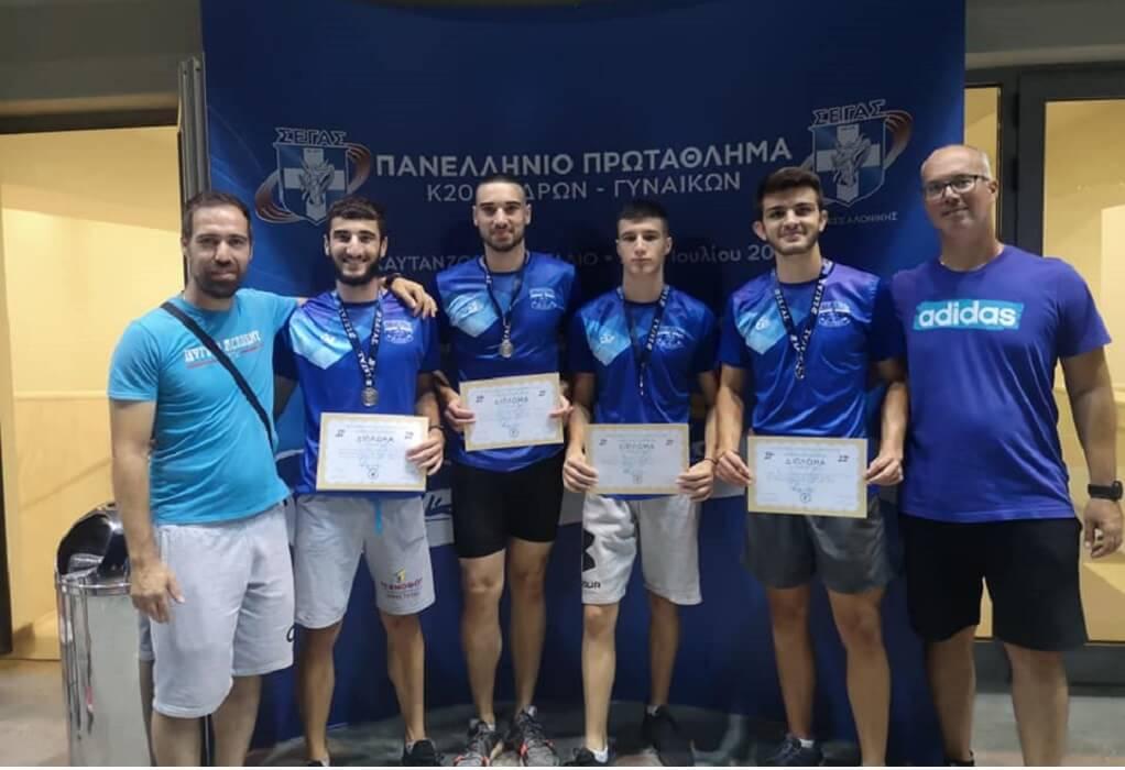 Η Πυγμη Ευόσμου κατέκτησε το Πανελλήνιο Πρωτάθλημα Στίβου Εφήβων