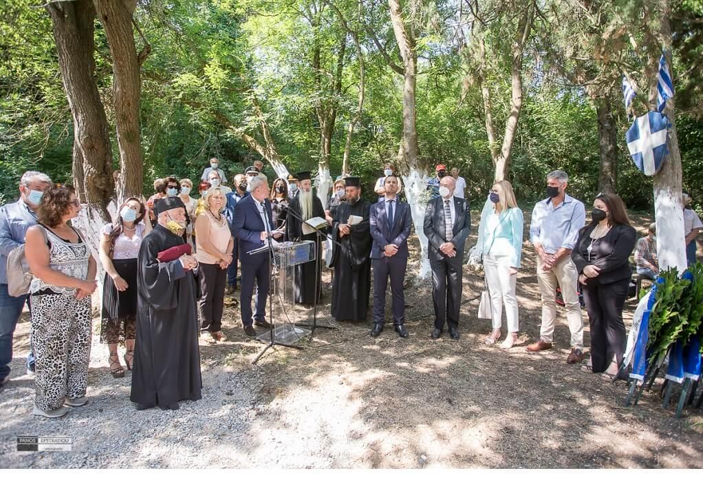 Δ. Πυλαίας-Χορτιάτη: Πραγματοποιήθηκε εκδήλωση μνήμης για τους 20 εκτελεσθέντες από τους ναζί